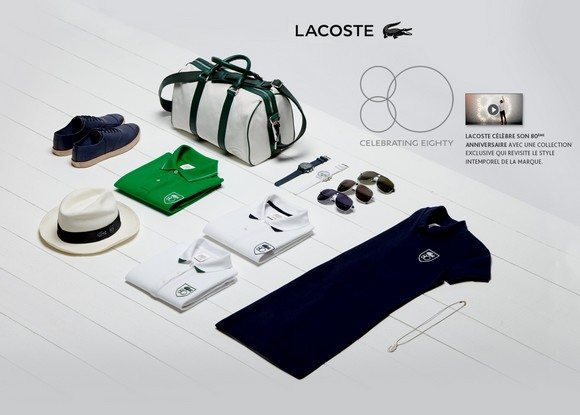 Collection Lacoste 80 ans
