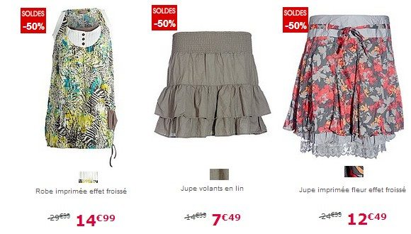 Jupes Robes pour femmes Kiabi pas chers