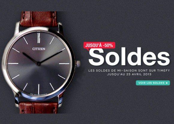 Soldes Flottants Timefy Printemps / Été 2013