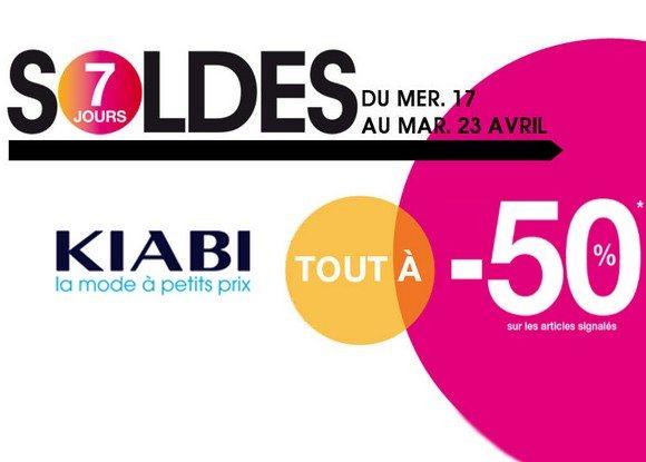 Soldes Flottants Kiabi Printemps / Été 2013