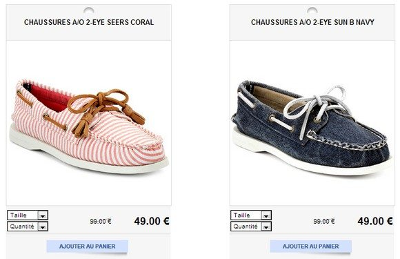 Chaussures bateau femme Sperry Top Sider
