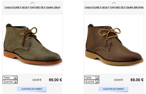 Chaussures de ville montantes