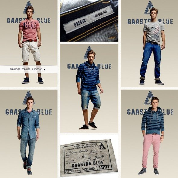 Look pour homme Gaastra