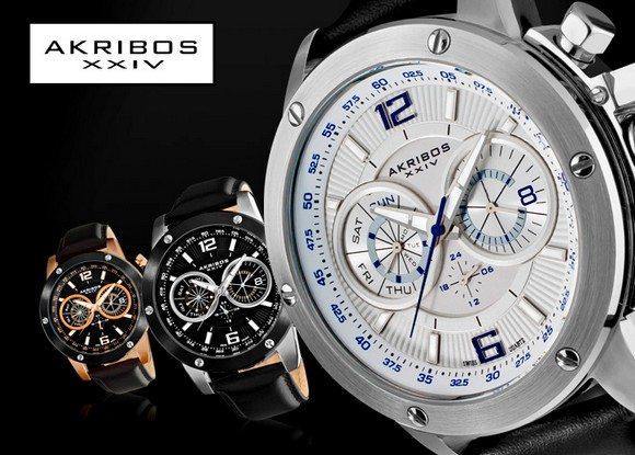 Les montres akribos en vente priv e mode homme blog - Sites de ventes privees de luxe ...
