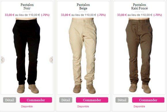 Pantalon French Connection