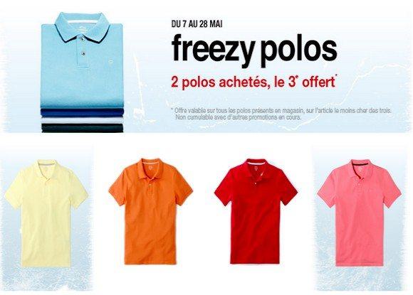Les Freezy Polos by Celio