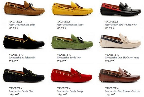 Chaussures Vicomte A