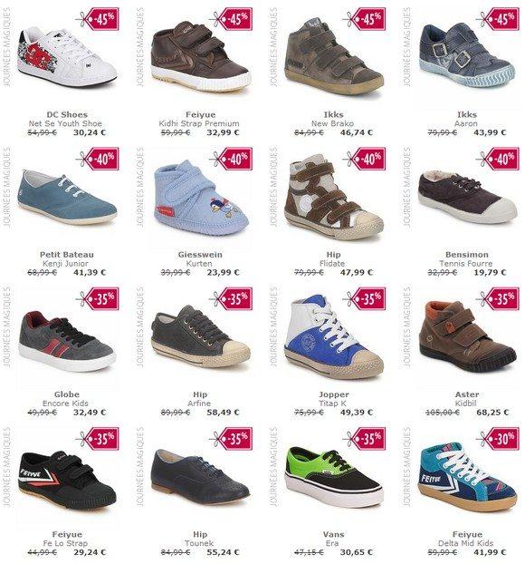 Chaussures enfant garçon pas cher