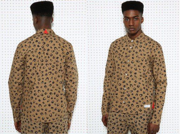 Chemise à motif Adidas Originals