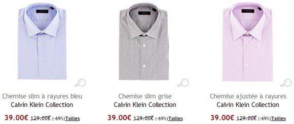 Chemise Calvin Klein