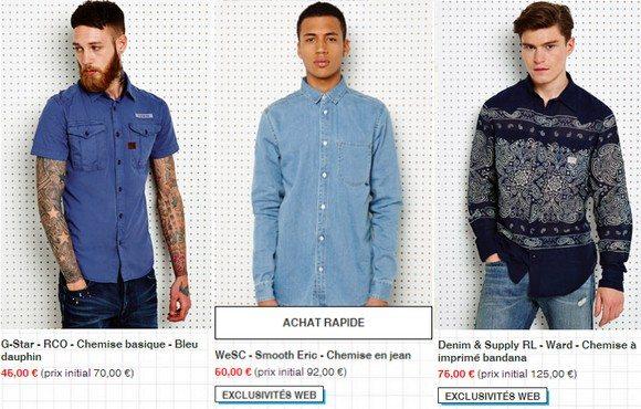 Chemises Urban Oufitters