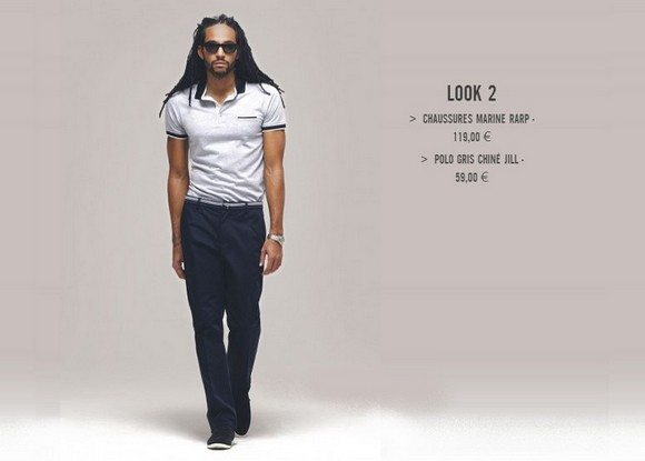 Look pour homme Izac