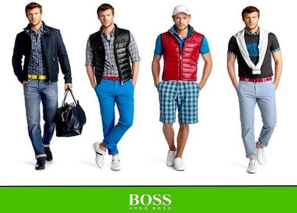 Looks homme Hugo Boss Green