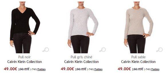 Pull femme Calvin Klein