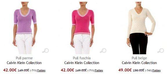 Pull femme sport Calvin Klein
