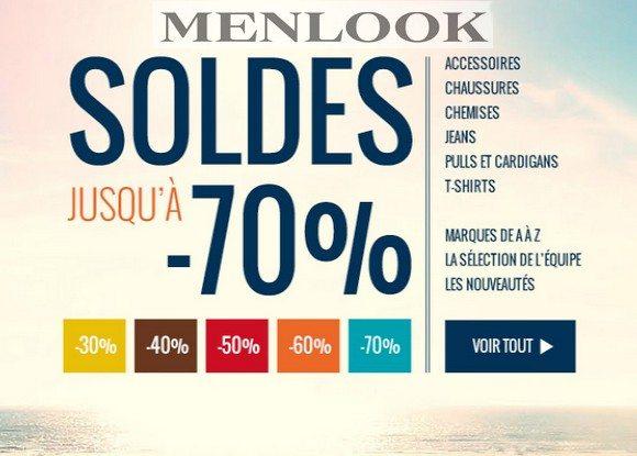 Soldes Menlook Été 2013