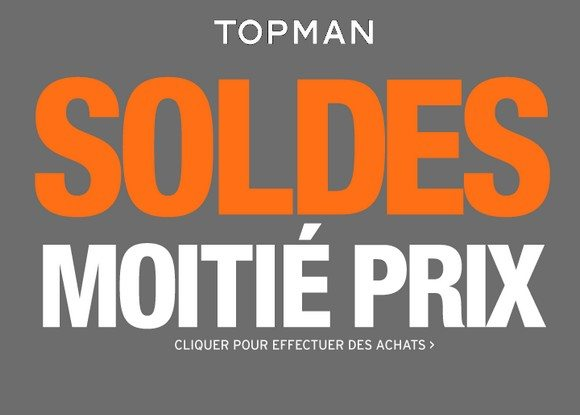Soldes Topman Printemps/ Été 2013