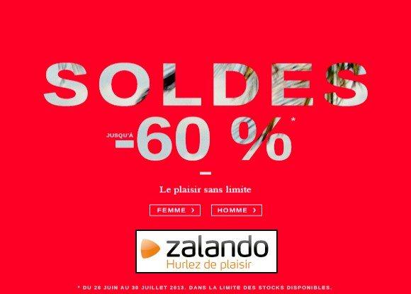 Chaussures en Soldes chez Zalando !