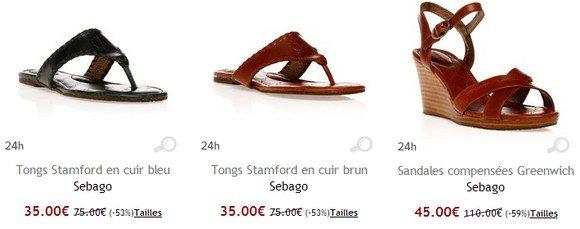 Chaussures été femme Sebago