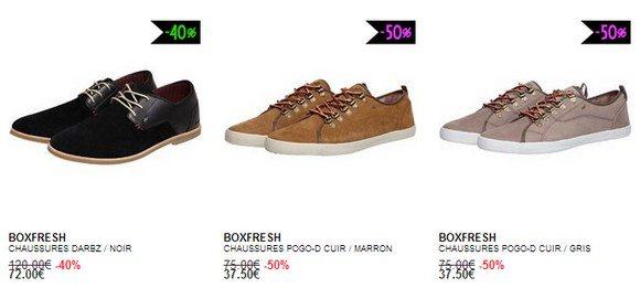 Chaussures Boxfresh