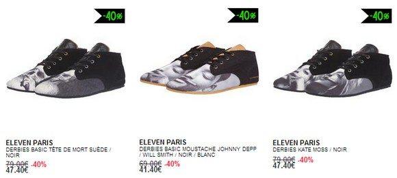 Chaussures Derbies Eleven Paris