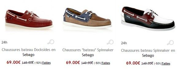 Chaussures Sebago