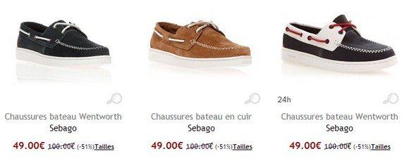 Chaussures bateau Sebago