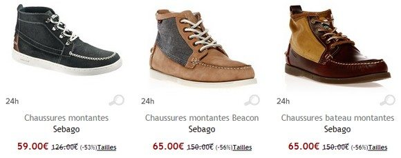 Chaussures montantes Sebago