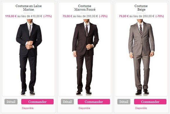 Costume homme pour mariage