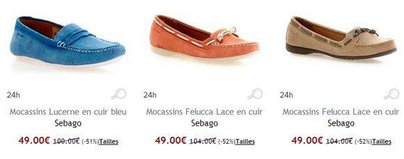 Mocassins femme Sebago