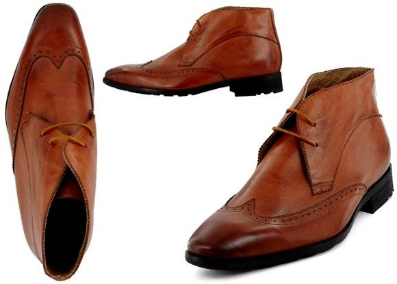 Chaussures montantes en cuir Torrente