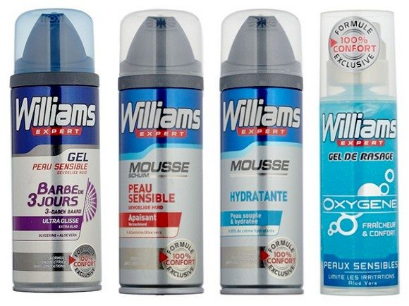 Mousse a raser Williams