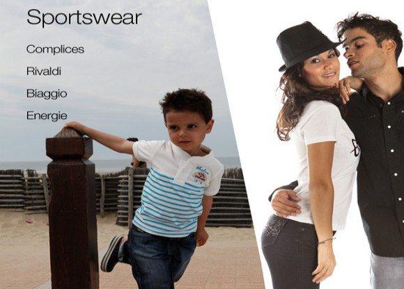 Vente privée de vêtements sportswear
