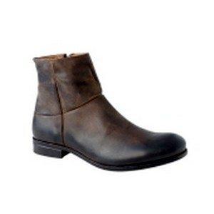 boots en cuir homme