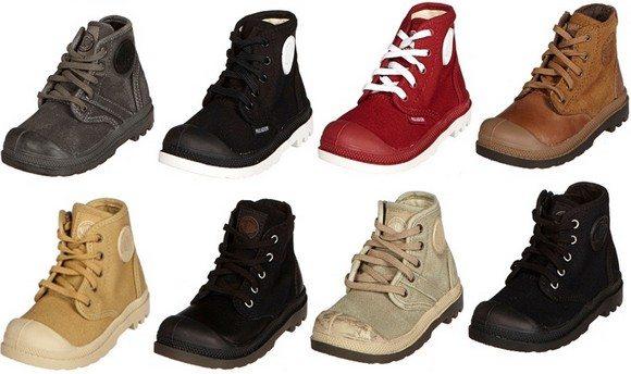 Chaussures montantes Palladium bebe