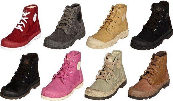 Chaussures montantes Palladium enfant