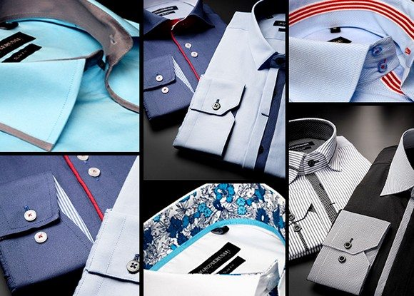 Vente privée de chemises Marco Serussi
