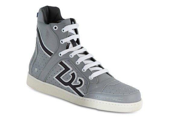 Sneakers montantes en cuir Dsquared2