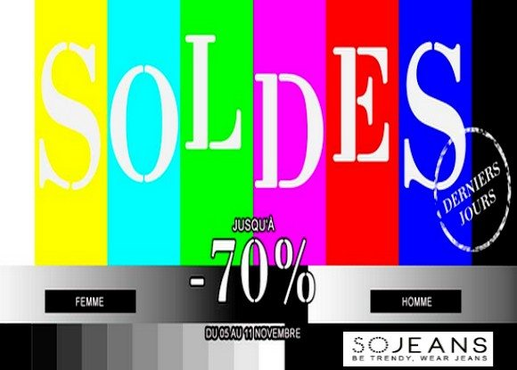 Soldes Flottants So Jeans