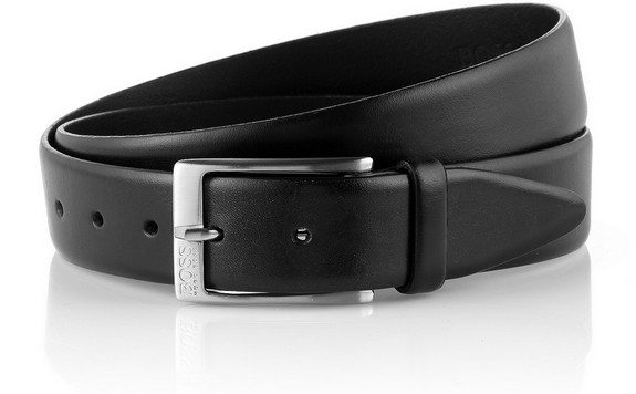 ceinture noire en cuir