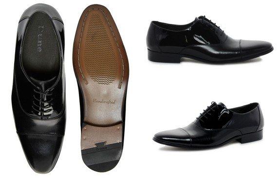 chaussures vernies noires