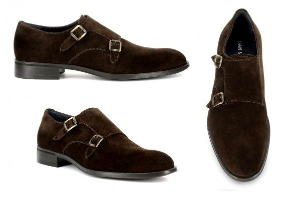 chaussures loafers marron