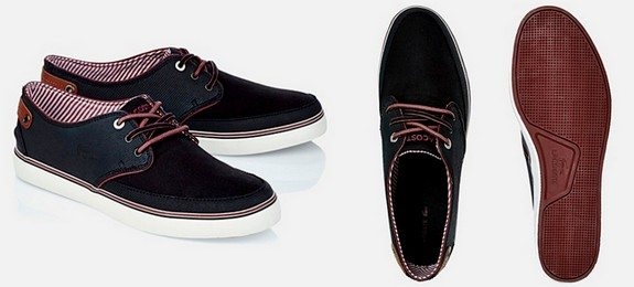chaussures modernes lacoste