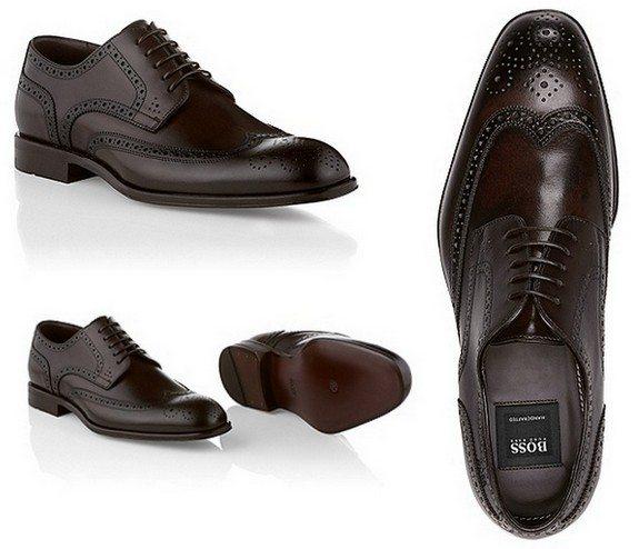 chaussures richelieu hugo boss