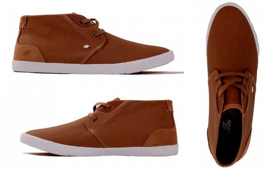 sneakers mi hautes marron boxfresh