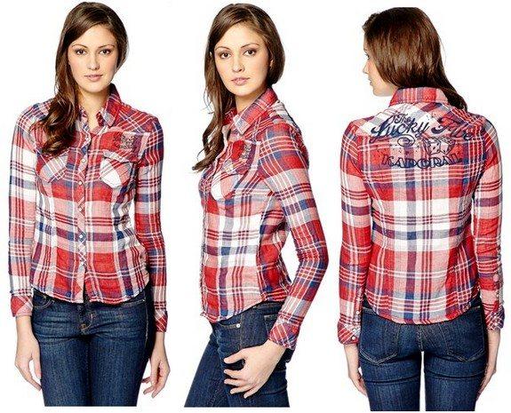 chemise à carreaux kaporal