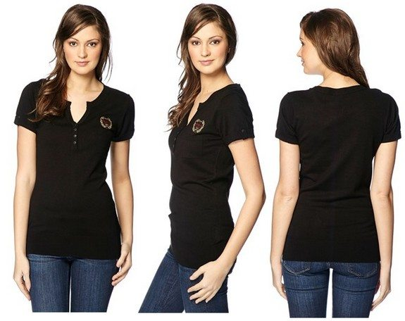 t-shirt femme kaporal
