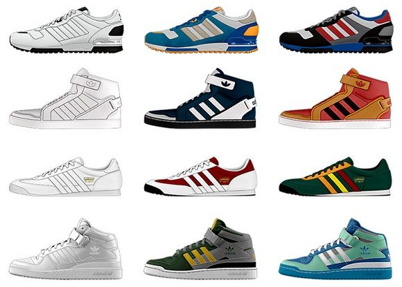 Personnaliser ses chaussures Adidas