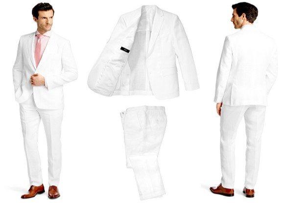 costume homme blanc