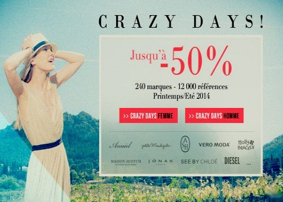 Les Crazy Days by MonShowroom !
